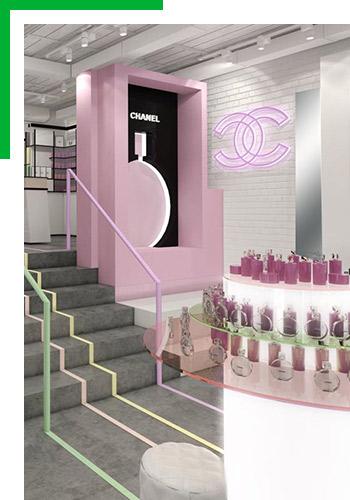Загляните вобновленный парфюмерно-косметический бутик Chanel Moscow Studio