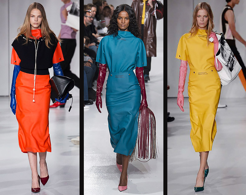 Подарок для Золушки: три способа носить «в люди» резиновые перчатки Calvin Klein за 390 долларов