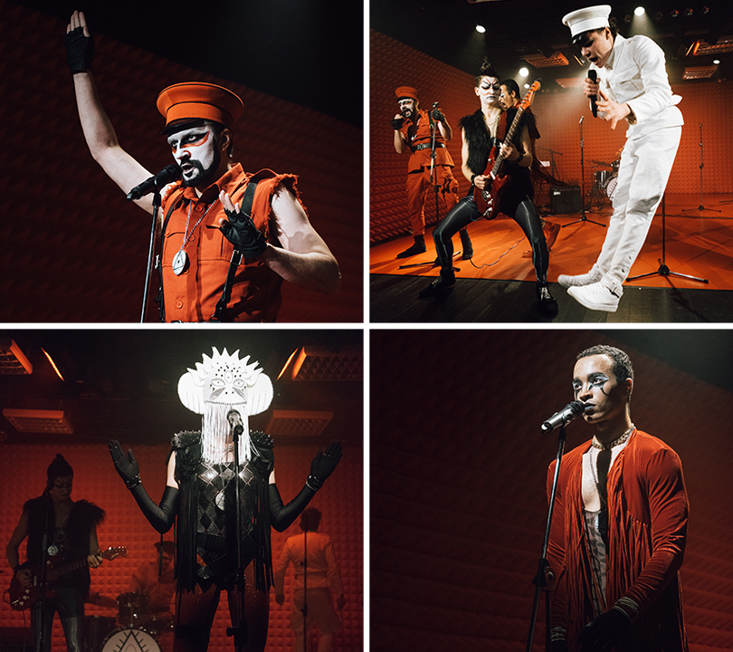 КиноТеатр: красное ибелое. Премьера спектакля «Чапаев ипустота» втеатре «Практика»