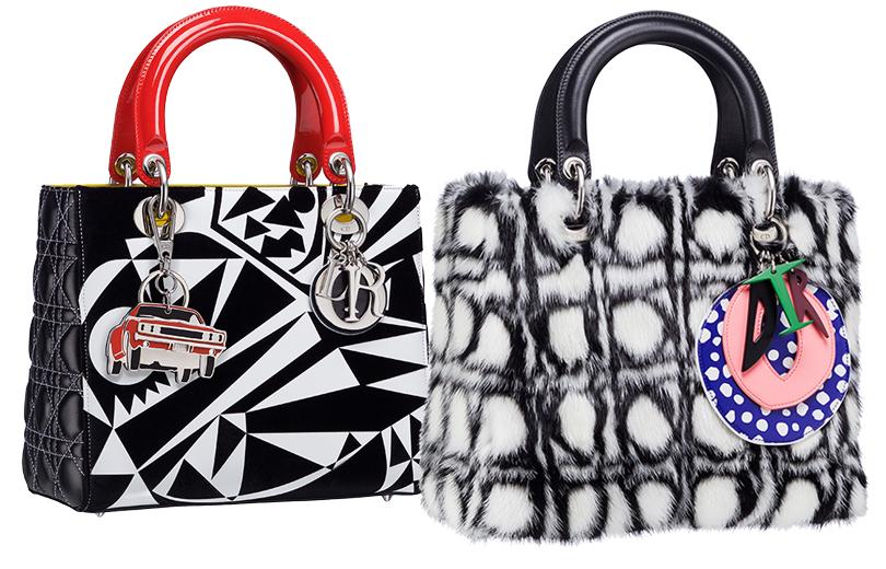 Shoes &Bags Blog: #DiorLadyArt— коллаборация модного Дома ссовременными художниками. Мэттью Портер, Дэниел Гордон