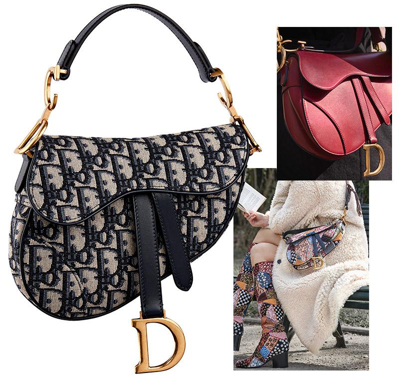 Shoes &Bags Blog: сумка-седло отDior возвращается