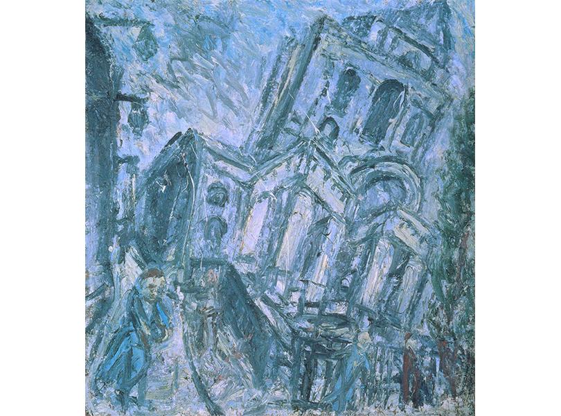 Леон Коссоф. «Церковь Христа, Спиталфилдс утром». 1990