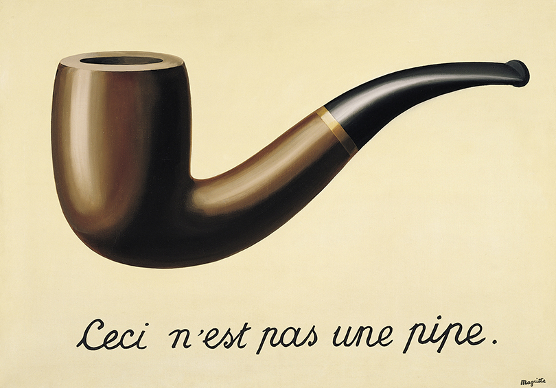 Art Weekend в мире: лучшие выставки и арт-события октября от Парижа до Сингапура. Рене Магритт. «Вероломство образов», 1928-1929гг.