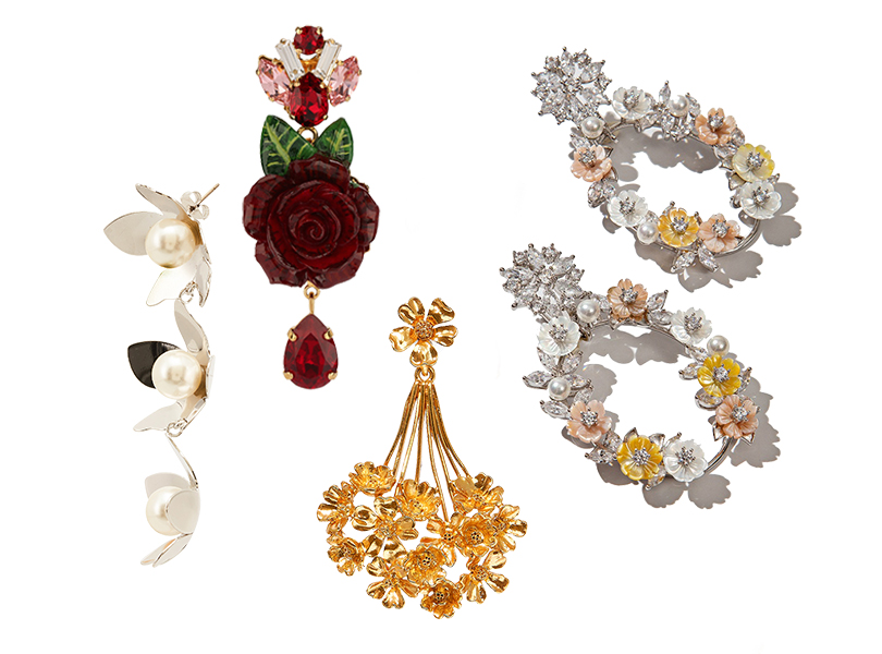 Herald Percy (Aizel), 7800руб.; Dolce &Gabbana, 41250руб.; Oscar delaRenta (PoisonDrop), 12100руб.; Exlaim, 17890руб.