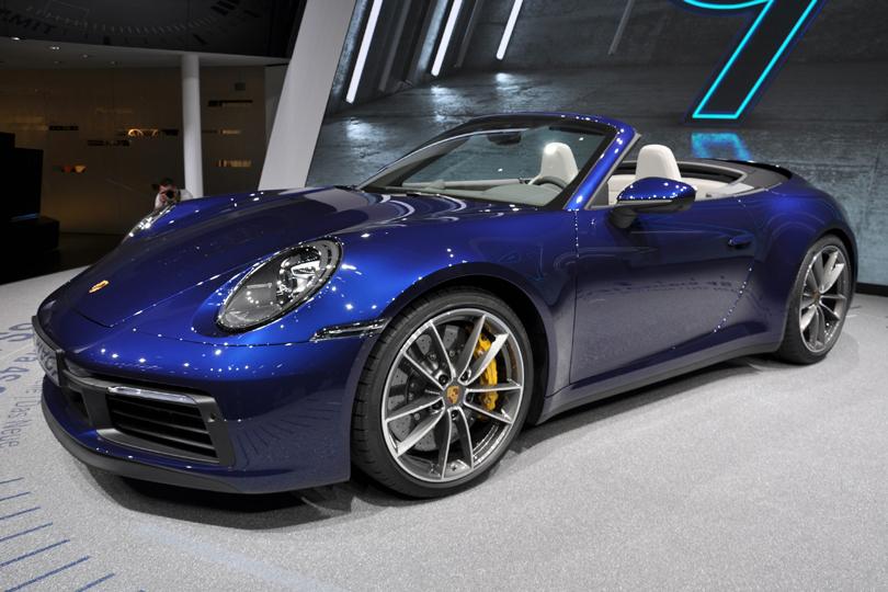 Cars with Jan Coomans. Geneva International Motor Show 2019. Porsche 911 Carrera S