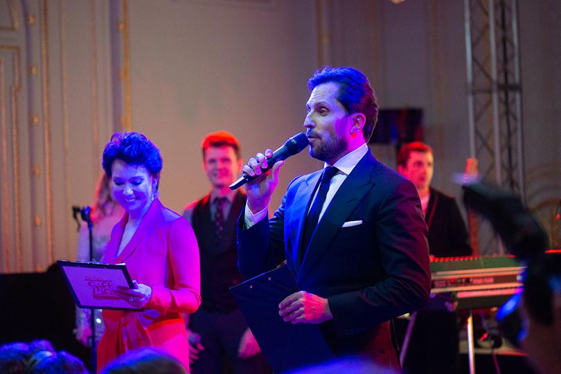 Гала-вечер благотворительного фондаGiftofLife в Лондоне. Чулпан Хаматова иАлександр Ревва
