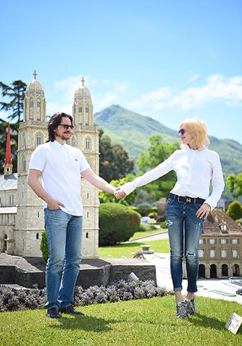 Планы налето. ОтЛюцерна доЛугано: швейцарские каникулы Ирины Гриневой. Парк Swiss Miniatur, Лугано