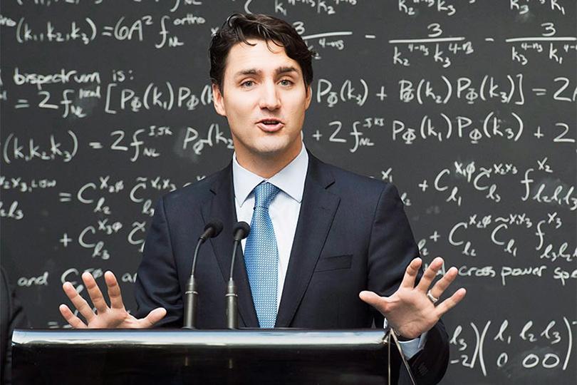Men inPower: премьер-министр Канады Джастин Трюдо