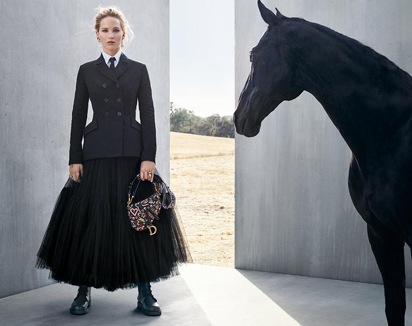 Она вернулась! Дженнифер Лоуренс в новой круизной кампании Dior