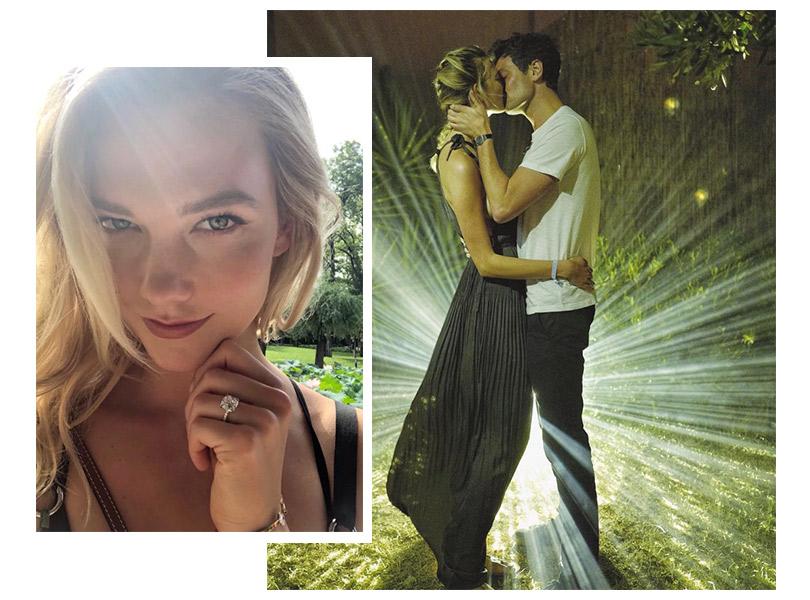 Пара недели: супермодель Карли Клосс вышла замуж за Джошуа Кушнера