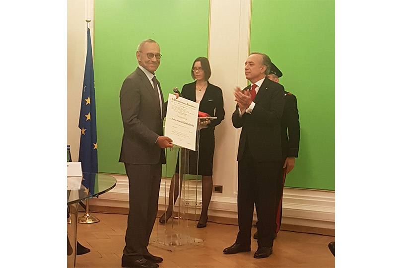 Андрей Кончаловский удостоен ордена «Зазаслуги перед Итальянской Республикой»