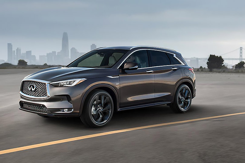 Cars with Jan Coomans. What's new atthe Los Angeles Motor Show. Infiniti QX50