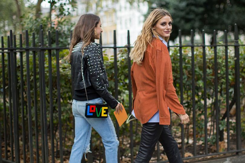 Street Style: лучшие образы на Неделе моды в Лондоне. Оливия Палермо