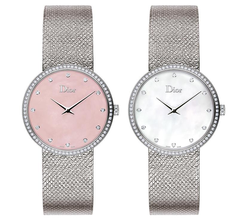 Часы &Караты: LaDde Dior Satine— знаковая модель вновом представлении