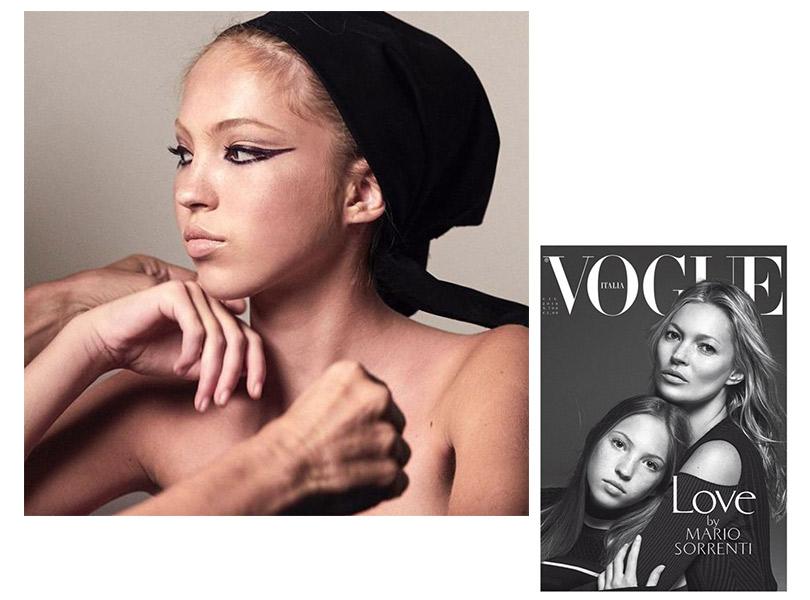#postamillennials: 16-летняя дочь Кейт Мосс возглавила рекламную кампанию Marc Jacobs Beauty
