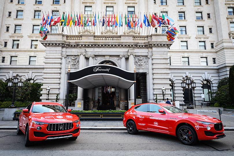 Зарулем внедорожников Maserati наавтопробеге Cash &Rocket Tour 2018