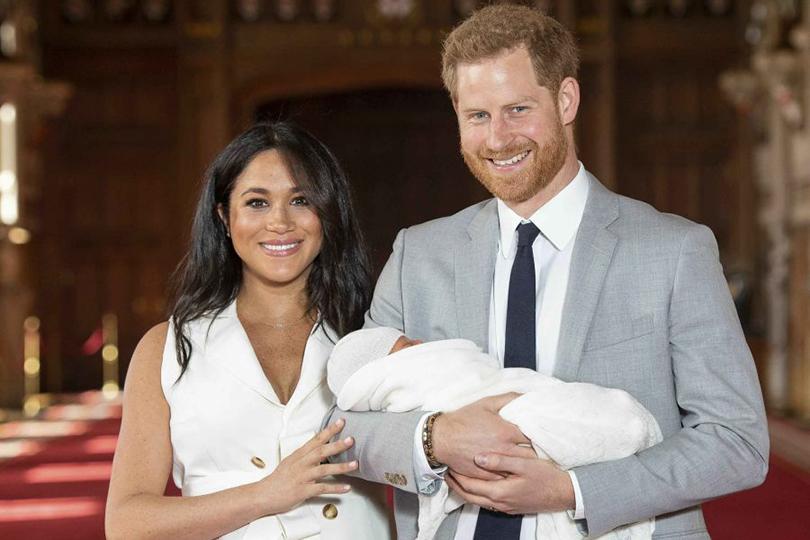#BabySussex: первые фото сына Меган Маркл и принца Гарри