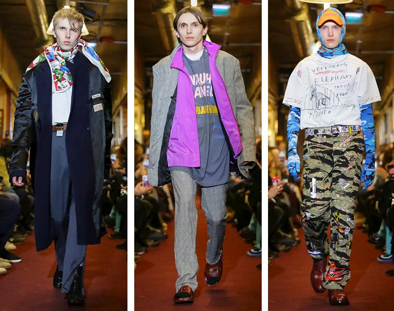 Все самое интересное снедель мужской моды: Vetements