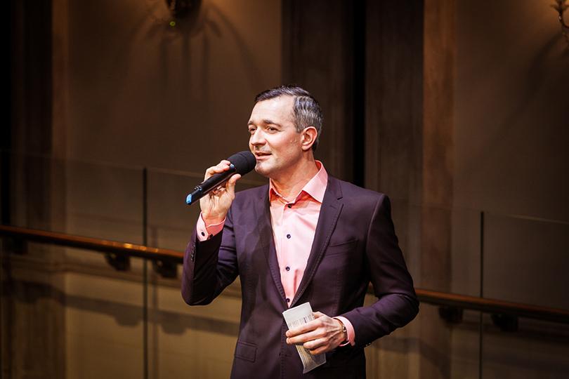 Светская хроника: кофе и«Танцы олюбви». Презентация Nespresso Creatista Plus вБольшом театре. Ведущий вечера — Егор Бероев