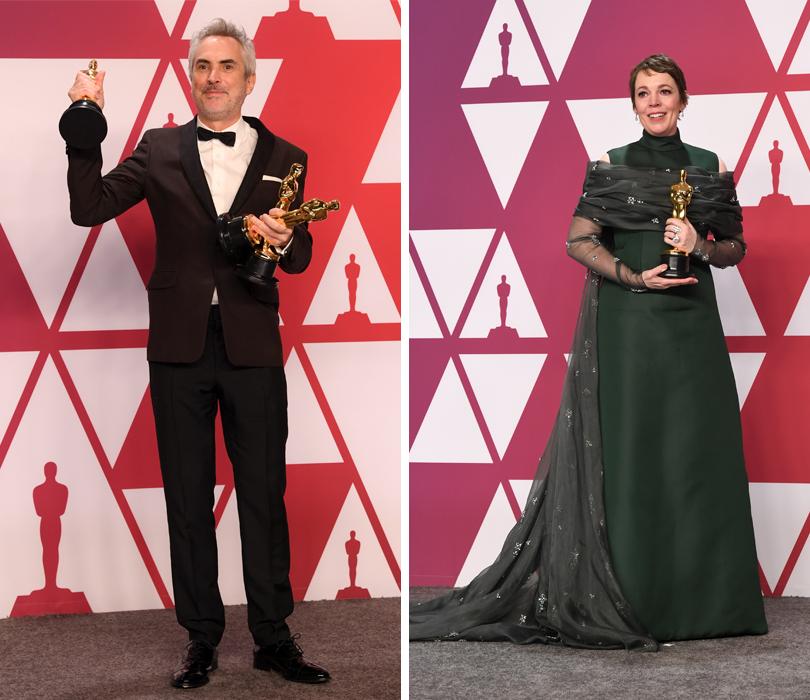 «Оскар»-2019: триумфаторы 91-й церемонии вручения премии Американской киноакадемии. Альфонсо Куарон. Оливия Колман