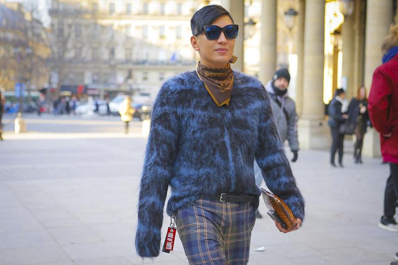 Men in Style:хроники парижского стиля. Блогер Брайан Бой