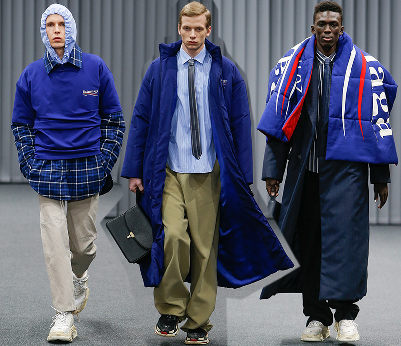 Men in Style: что мы узнали в Париже? Пять главных открытий Недели мужской моды. Balenciaga