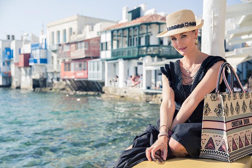 #postatravelnotes Лето. Миконос. Dior Riviera. Маргарита Лиева