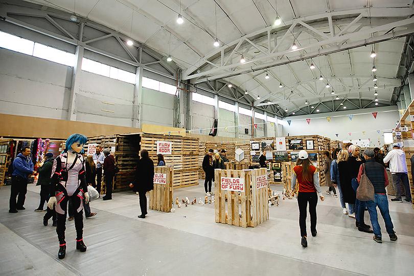 Идея на уикенд: ярмарка современного искусства Sam Fair впетербургскомМузее стрит-арта