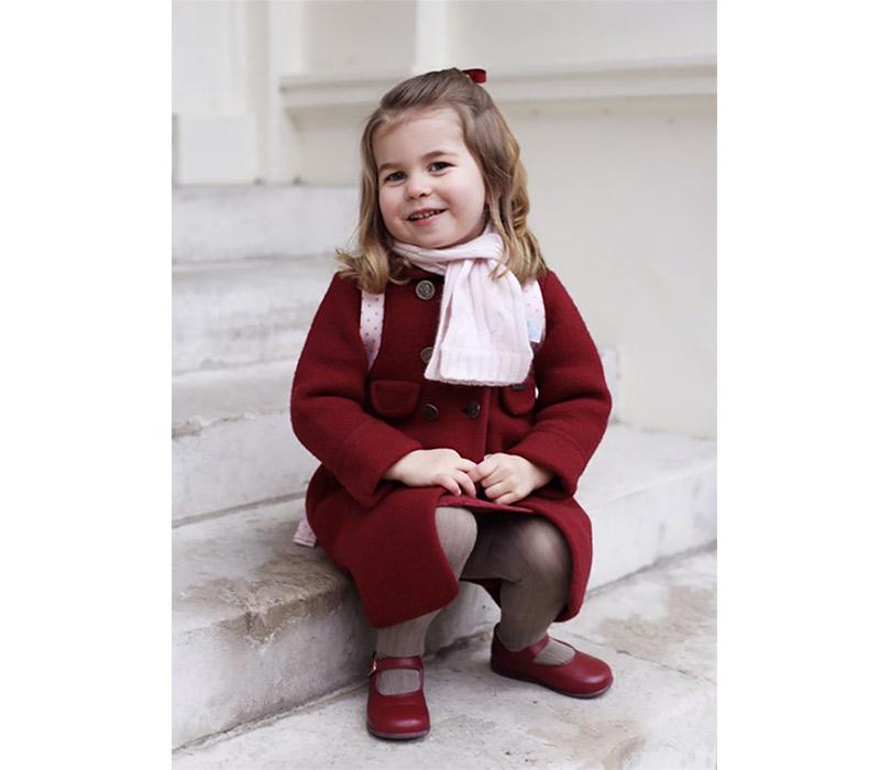 Дочь Кейт иУильяма Шарлотта