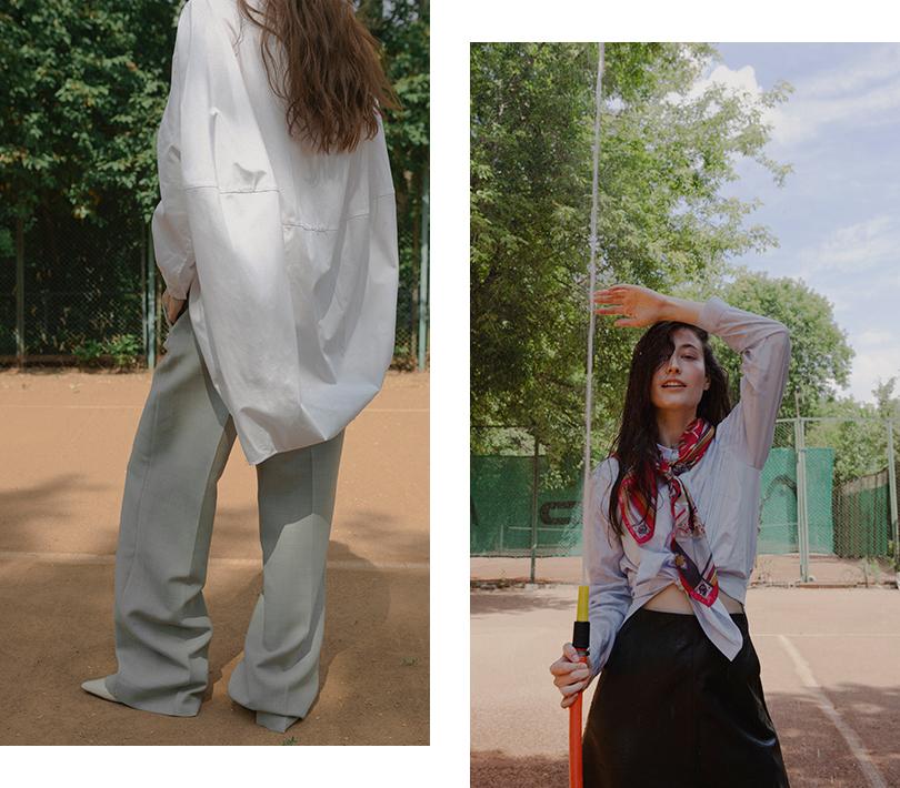 Виктория Андреянова разработала капсульную коллекцию рубашек на все случаи жизни