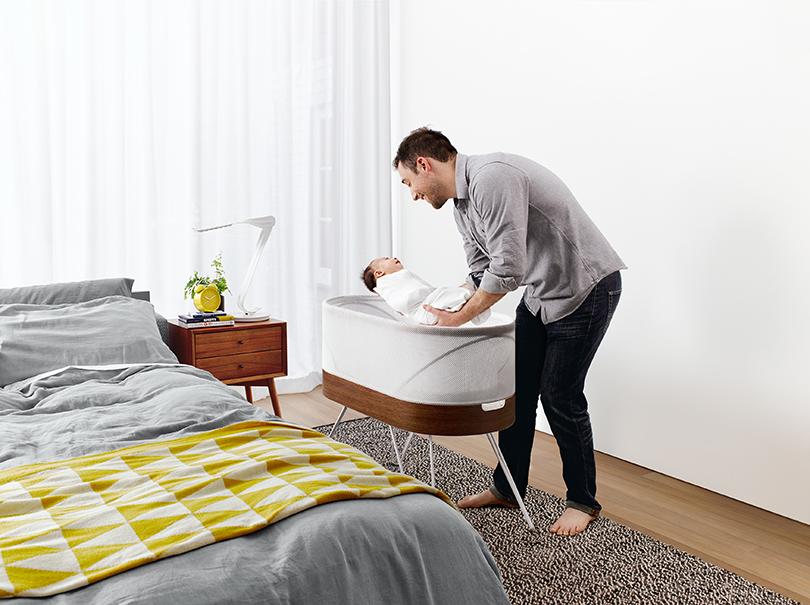 Posta Kids Club: «умные» изобретения впомощь молодым родителям. «Умная» кровать нового поколения Snoo Smart Sleeper