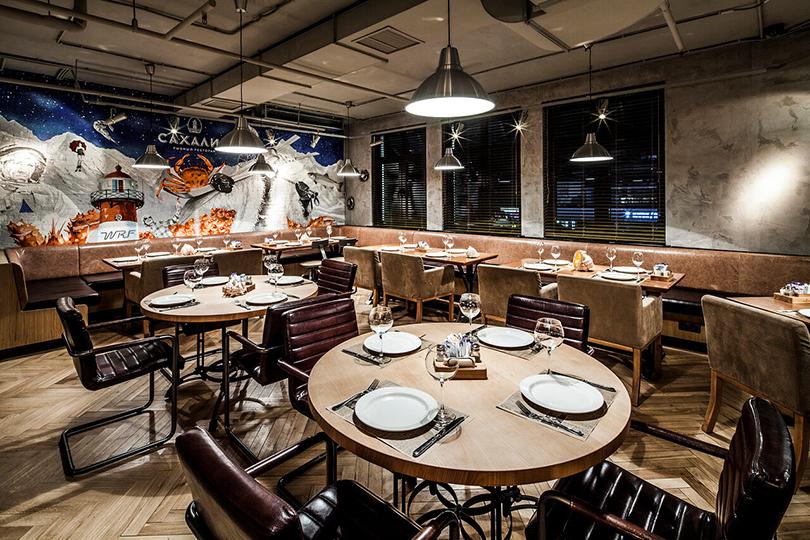 Лучшие рестораны Сочи: ресторан «Сахалин» на горнолыжном курорте «Роза Хутор»