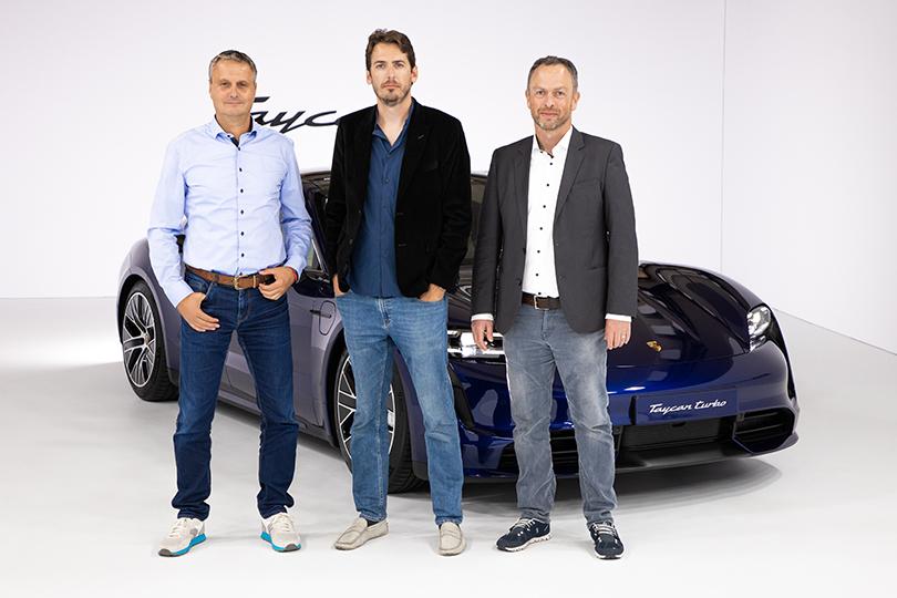 Cars with Jan Coomans. Porsche Taycan world premiere
