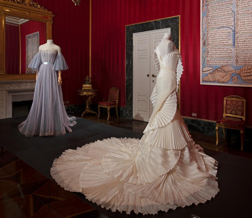 Серое платье — Yanina Couture