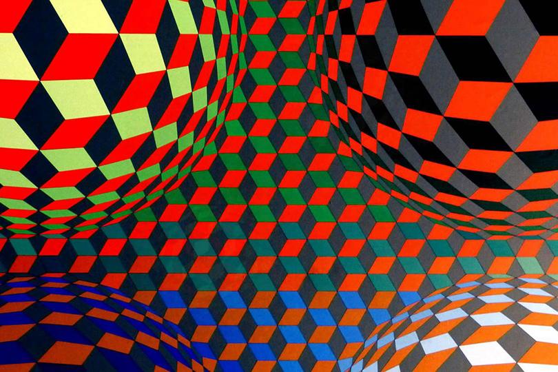 «Виктор Вазарели: разделение форм»  Центр Помпиду, Париж, Франция  6 февраля — 6 мая