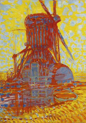 Пит Мондриан. Мельница всолнечном свете.1908