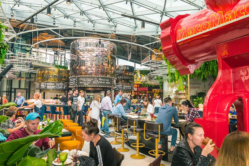 Новый ресторан: фуд-корт Александра Раппопорта в«Зарядье»