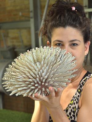 Израильтянка Земер Пелед, окончившая Лондонский колледж искусств, посвятила свое творчество первозданной красоте природы