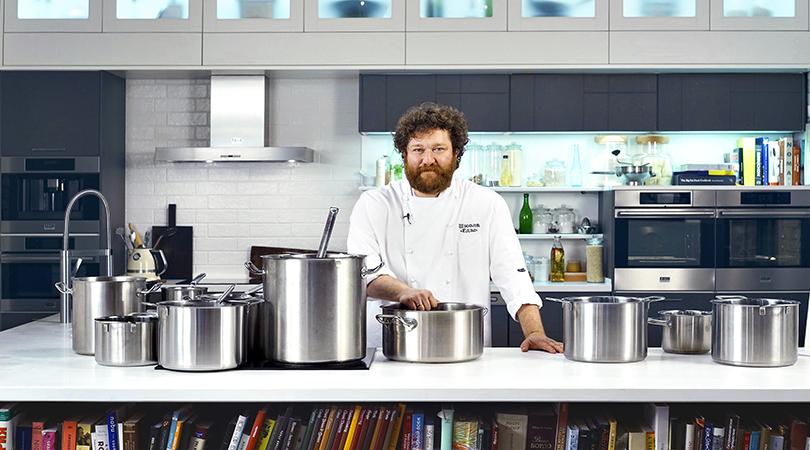 Хороший вкус с Екатериной Пугачевой: Алексей Зимин открыл кулинарную online-школу