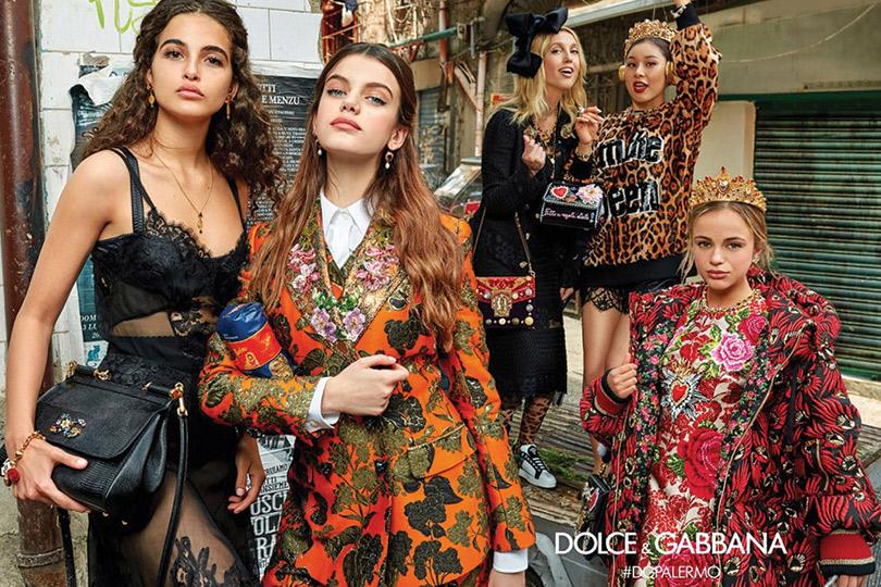 Амелия Виндзор для Dolce &Gabbana