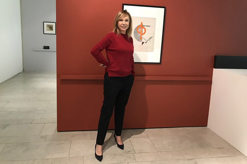 Алена Долецкая стала креативным консультантом директора Третьяковской галереи