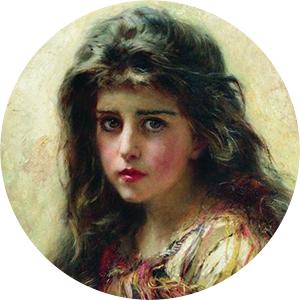 Константин Маковский. Портрет девушки