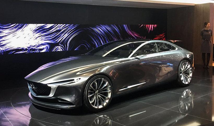 Авто сЯном Коомансом: все самое интересное наАвтосалоне вЖеневе 2018. Mazda Vision Coupe