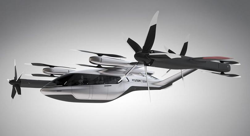 Hyundai и Uber планируют запустить летающее такси