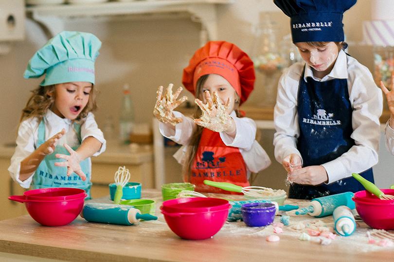 Пища для ума: чем занять детей вмосковских ресторанах. Ribambelle