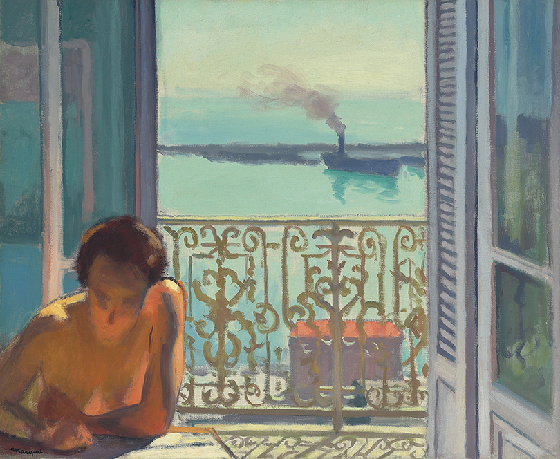 Альбер Марке. «Контражур. Алжир», 1924г.