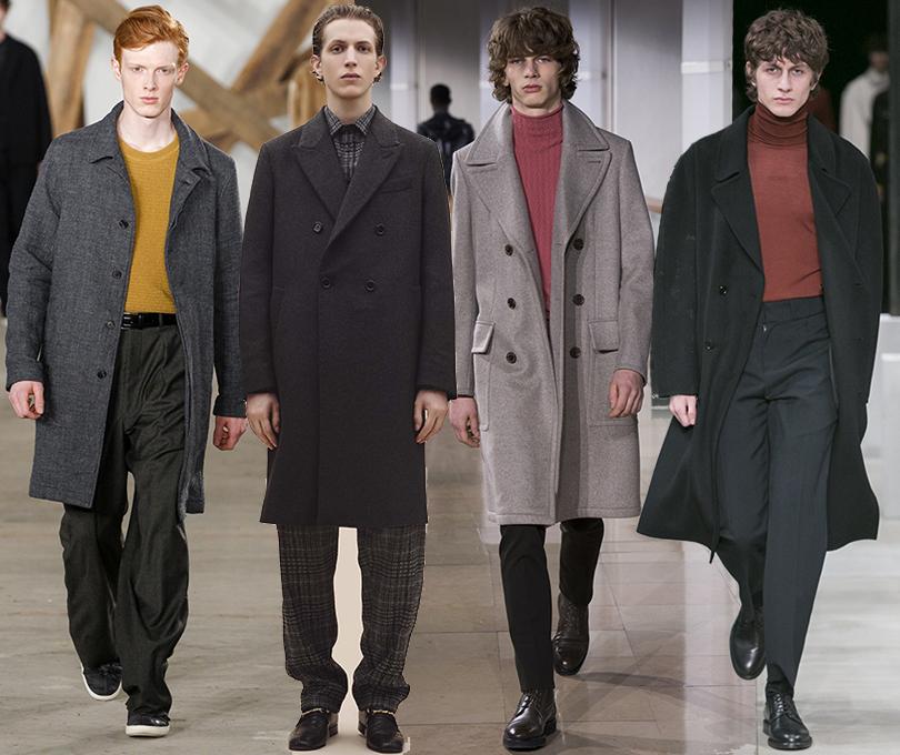 Men inStyle: утепляемся совкусом. Какую верхнюю одежду носить вноябре? Billy Reid, Joseph, Hermès, Sandro, осень-зима 2016/17