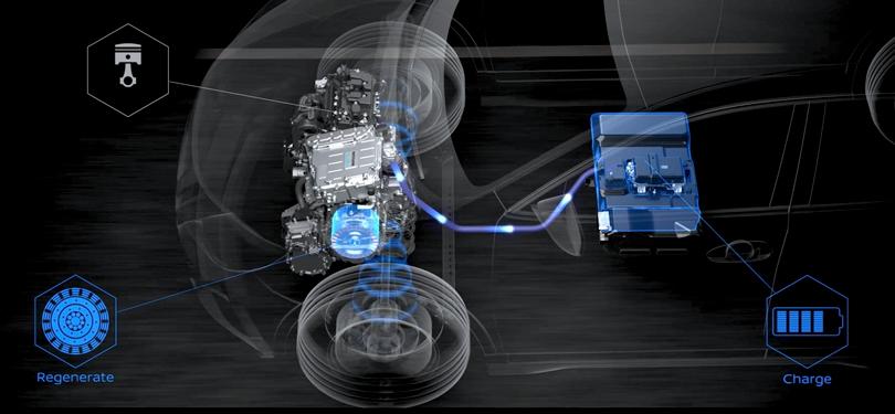 Женевский автосалон 2019: концептуальный кроссовер Nissan IMQ с системой e-Power