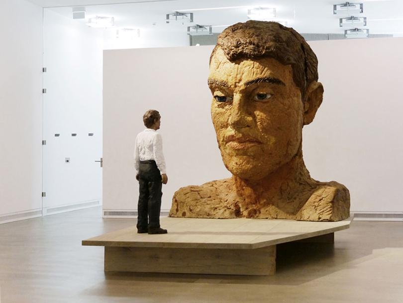 Art Weekend в Москве: деревянные люди Балкенхола. «Большая голова сфигурой»