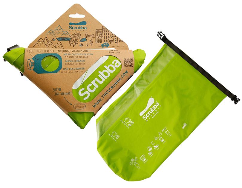 Идея подарка: надувные санки, эспрессо-самовар идругие практичные находки для путешественников. «Карманная» стиральная машинка Scrubba Wash Bag